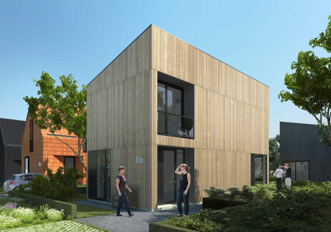 zelf je huis bouwen in droomwijk