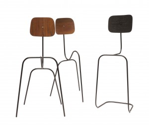 ODES: Een ode aan Charles en Ray Eames en Mart Stam in de vorm van hun meest iconische ontwerpen.