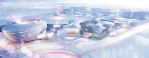 8. Epic Ring, prijsvraagontwerp OlonkhoLand Complex in Yakutia