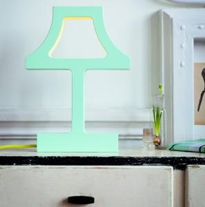 The Missing Bulb (2013), een silhouet van een lamp.