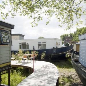 De Ceuvel Amsterdam. Foto: Martin van Wijk