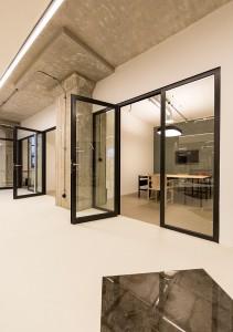 Afgesloten werkruimtes Broeinest