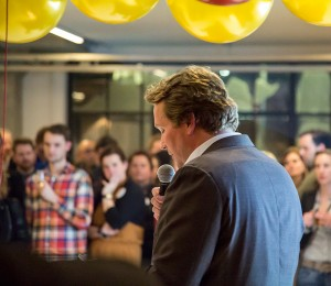 Bart Dekkers - directeur Baars en Bloemhoff - openingsspeech