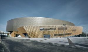Congrescentrum Micx, architect Daniel Libeskind. Foto Georges De Kinder