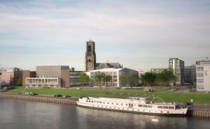 Het Gelders Huis IDNova vanaf Rijn