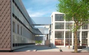 Het Gelders Huis IDNova verbinding tussen bestaand (links) en nieuw