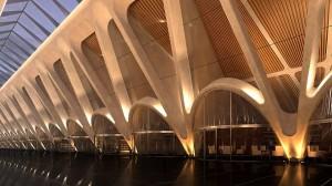Passerelle station Bergen, santiago calatrava