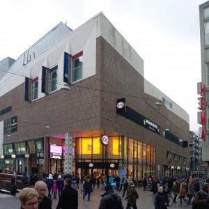 De Spuimarkt naar ontwerp van Peter Wilson is sinds 2008 in gebruik.