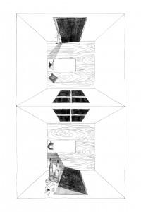 5. Slaapkamer uit het verhaal 'Liminal: the Little Man' van Lydia Davis