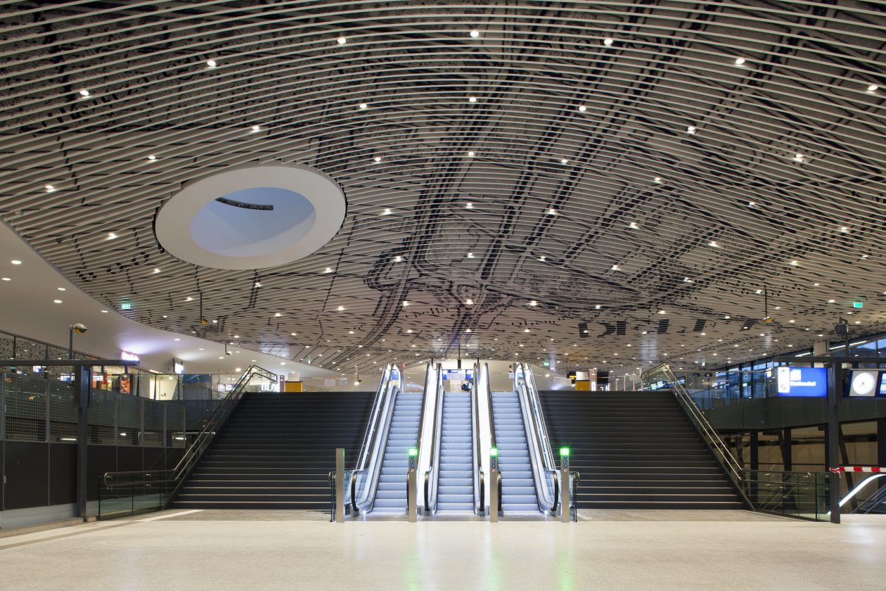 Verleden En Toekomst Op Station Delft Architectuur Nl