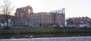Cereolfabriek Utrecht: Veevoederfabriek is o.l.v. BOEi getransformeerd tot multifunctioneel complex, met horeca, school, bibliotheek en cultuur. Foto BOEi-Jan van Dalen fotografie