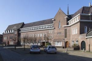 Het Nemiusklooster Den Bosch wordt door BOEi herontwikkeld tot een werk-leerbedrijf voor jongeren met afstand tot de arbeidsmarkt. Foto: BOEI-Jan van Dalen Fotografie