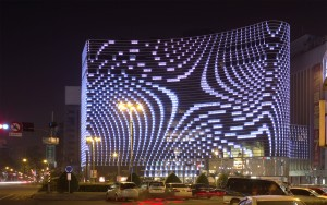 Star Place Facade, Kaohsiung, Taiwan. Arup ism UNStudio