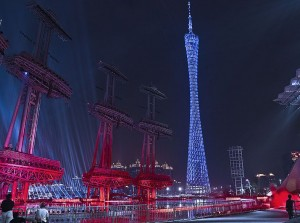 Canton Tower, Guangzhou. Arup i.s.m. Information Based Architecture, Amsterdam