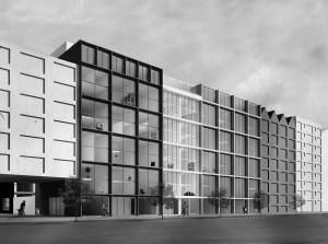 Mark Koehler bedacht Superlofts, een flexibel 'raamwerk' van casco-lofts, die worden ontwikkeld in opdracht van collectieven van particulieren (CPO). De zes meter hoge ruimtes bieden hen de vrijheid om – in plattegrond én doorsnede - hun eigen droomhuis in te richten