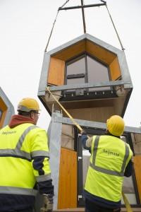 ONE, een concept van architect Tim van der Grinten (MoodWorks Architecture) en bouwer Heijmans, mikt op singles.