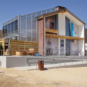 Prêt-à-Loger, het concept dat een studententeam aan de TU Delft ontwikkelde, is mogelijk een oplossing voor naoorlogse rijtjeshuizen