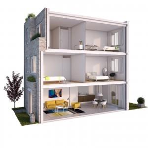 Webuildhomes - Brickhouse - Ontwerp KRFT (voorheen de nieuwe generatie)