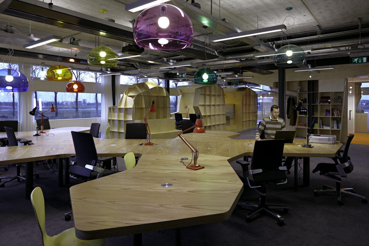Creatieve Interieur Inrichting : Interieur voor adviesbureau ynno in creative valley architectuur