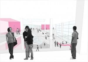 3. Prijsvraagontwerp Gerrit Rietveldacademie Amsterdam