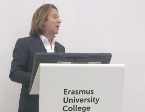 Erick van Egeraat sprak over de vernieuwing van Rotterdam