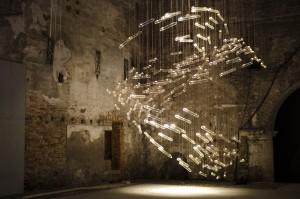 De voor de Arsenale in Venetië ontwikkelde Flylight won de internationale Arte Laguna Prize 2013.