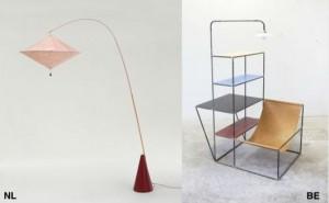 Links: Studio Wieki Somers, Aoyama. Rechts: Muller van Severen, Installation S.Foto: Fien Muller