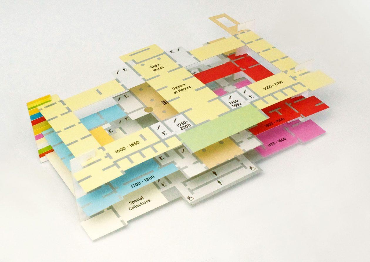 Plattegrond Van Het Rijksmuseum.Paper Pathfinder Architectuur Nl