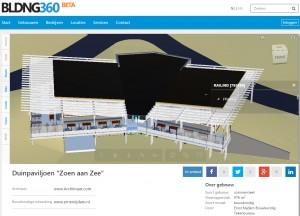Iedereen kan een gratis account aanmaken op BLDNG360