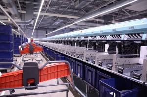 Postsorteerhulpmachine voor PostNL (Flex / The Innovation Lab).