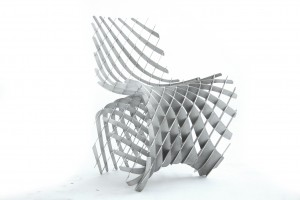 Mesh Magnesium Maker chair