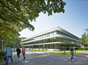 Grotiusgebouw, Nijmegen. Benthem Crouwel Architects.