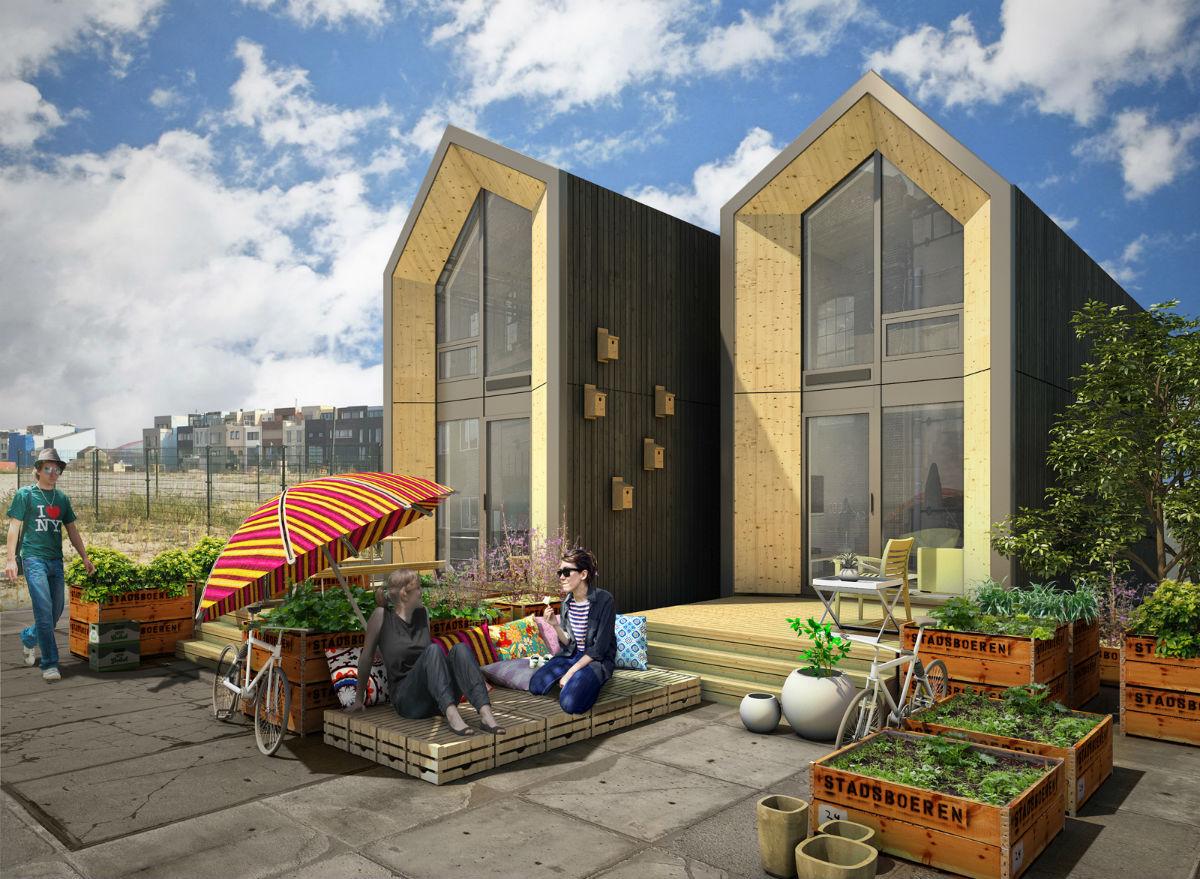 One genomineerd voor dutch design award for Verplaatsbaar huis