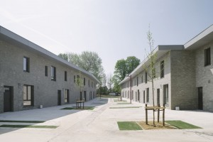 Woningbouw Asse, architect Thom Thys. Foto: Olmo Peters