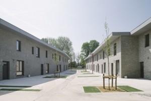 Woningbouw Asse, architect Thom Thys. Foto: Olmo Peters