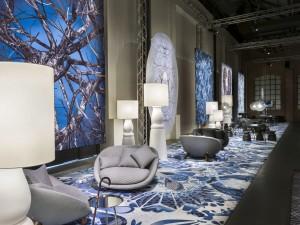 Moooi Carpets biedt 48 standaardontwerpen maar je kunt een tapijt laten printen met elk gewenste afbeelding.