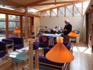 Het atelier van Hans Ruijssenaars bevindt zich in het oostelijke deel van de nieuwbouw. Foto: Jacqueline Knudsen