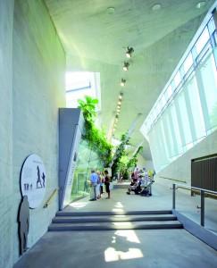 Apenverblijf HJA Wilhelma Stuttgart. ontwerp Hascher Jehle Architektur • Foto Svenja Bockhop