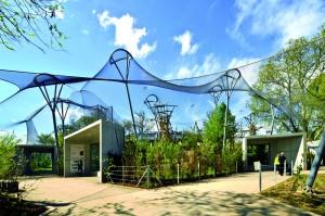 Apenverblijf HJA Wilhelma Stuttgart  ontwerp Hascher Jehle Architektur • Foto Svenja Bockhop