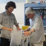 Mels Crouwel en Jolan van der Wiel