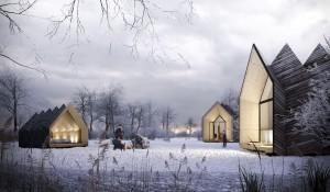 De Hermit Houses (i.s.m. Daniel Venneman) zijn designhuisjes waarin je de dagelijkse drukte even kunt ontvluchten. Ze worden per individu ontworpen, geprefabriceerd uit duurzame materialen en zijn in enkele dagen op te bouwen en weer af te breken. Hierdoor maken zijn ze – aangevuld met zelfvoorzienende installaties – een comfortabel verblijf in de natuur mogelijk.