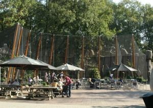 Ouwehands dierenpark  Rhenen, vogelverblijf