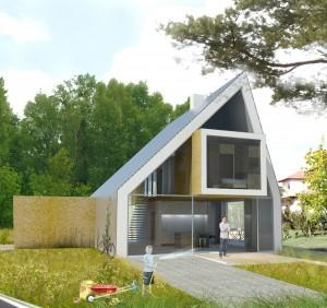 De modulaire cataloguswoning SoftRock is een zelf geïnitieerd project waarbij Bertassi en Murphy naast architect ook ondernemer zijn