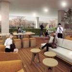 Van Aken architecten richten kantoorflat China in