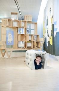 Tentoonstelling in het Nijntjehuis in Utrecht met werken van studio Remy & Veenhuizen.