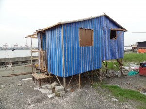 2. Transitional shelters, self built, Philippines.