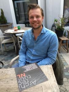 Stedenbouwkundige Robbert Jan van der Veen is de initiatiefnemer van InnovationLAB