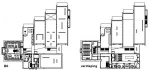 Museum MORE Gorssel - plattegronden - Hans van Heeswijk architecten