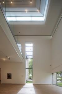 Museum MORE Gorssel - in een van de zalen is een vide - Hans van Heeswijk architecten - Foto Luuk Kramer