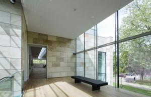 Museum MORE Gorssel - uitzichtplek aan het einde van de hal - Hans van Heeswijk architecten - Foto Luuk Kramer